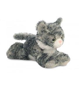 Aurora Kuscheln Mini Flopsie Lily graue Katze 20,5 cm