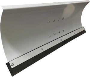 Universal Schneeschild Grau 100 x 40 cm für Rasentraktor 5-Fach verstellbar