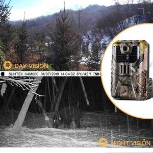 Wildkamera - 1080P - Jagdkamera 20mp Weitwinkel LED Infrarot 20m Nachtsicht IP65 überwachungskamera Wildtierkamera für Tierbeobachtung