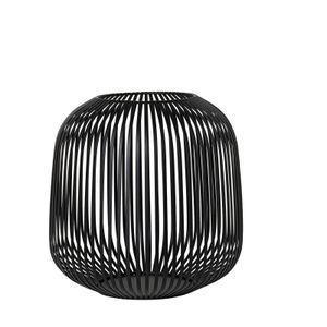 Blomus Laterne LITO schwarz Stahl pulverbeschichtet Durchmesser 27 cm