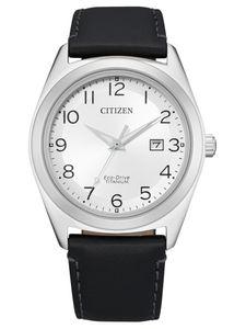 Citizen AW1640-16A Eco Drive Uhr Herrenuhr Lederarmband Datum schwarz