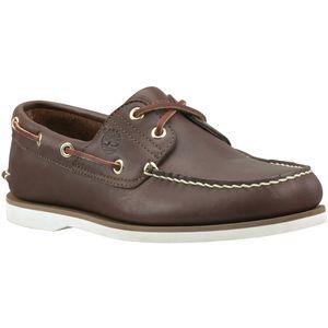 Timberland Classic Boat Sneaker Bootsschuhe Mokassin Verschiedene Farben, Schuhgröße:Eur 47.5; Farbe:Dunkelbraun