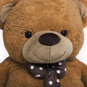 Teddybär L - XXXL 50-175cm Plüsch Kuschel Stoff Tier Riesen Teddy Bär Valentinstag Geschenk, Farbe:braun, Größe:XXL