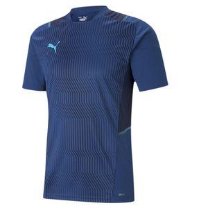 PUMA teamCUP Trainingsshirt limoges/peacoat/blue atoll 3XL