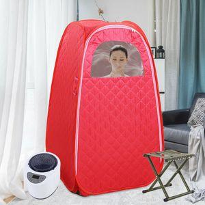 Mini Dampfsauna Mobil Heimsauna Sitzsauna Saunakabine Innenraum Wärmekabine  Faltbare Persönliche Saunakabine Gewichtsabnahme Haut SpaRosa