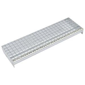 Treppenstufen 4 Stk. Pressroste Verzinkter Stahl 800 x 240 mm