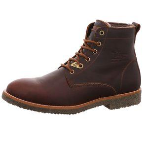 Panama Jack Glasgow Igloo Herren Schnürstiefel Stiefel Braun Schuhe, Größe:43