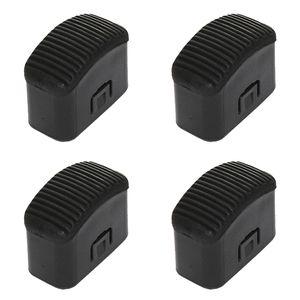 Hailo Fuß-Set in schwarz für Klapptritt Hailo Step-ke/L90