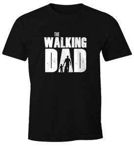 Herren T-Shirt The Walking Dad Vater Papa Geschenk Fun-Shirt Moonworks®  3XL