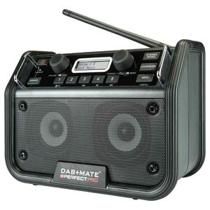 PerfectPro DAB+ MATE Baustellenradio, Bluetooth, UKW