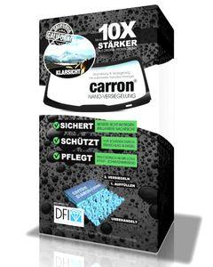 carron Autoscheiben Politur Nanoversiegelung Auto Frontscheibe polieren Scheibenversiegelung für Lotuseffekt + Steinschlagschutz wie unsichtbarer Scheibenwischer Abperleffekt (US-Patent)