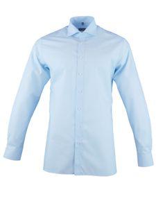 ETERNA Herren Modern Fit Hemd extra langer Arm Popeline hellblau Größe 41