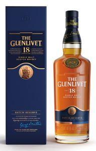 The Glenlivet 18 Jahre Single Malt Scotch Whisky in Geschenkpackung | 40 % vol | 0,7 l