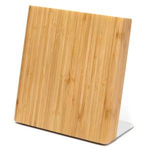 Latalis magnetischer Messerblock aus Bambusholz | Magnetischer Messerhalter aus Holz ohne Messer | Messerblockmagnet Perfekt für eine aufgeräumte Küche!