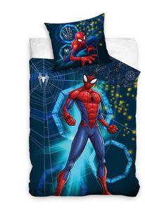 Marvel bettbezug Spider-Man 140 x 200 cm blau 60 x 70 cm