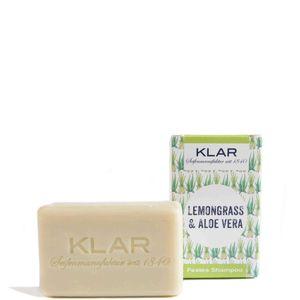 Klar's festes Shampoo Haarseife Lemongrass & Aloe Vera für fettiges Haar 100g 11071
