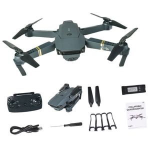 E58 Wifi FPV mit Weitwinkel 1080P Hight Hold Modus Flug 8min Faltbarer Arm RC Quadcopter Drohne