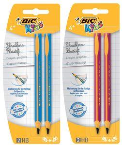 BIC KIDS Bleistift Evolution Härtegrad: HB 2er Blister