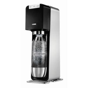 SodaStream Power incl. 1 l Flasche, Gehäuse Schwar/ Metallisch