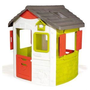 Smoby Neo Jura Lodge - Baumhaus - Junge/Mädchen - 2 Jahr(e) - Grün - Grau - Rot - Weiß - 2 Tür(en)