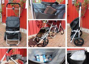 Fahrrad-Anhänger mit Kupplung Einkaufs-Trolley