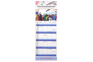 Kalender 2021 Familienplaner Küchenkalender Terminplaner Bastelkalender XL zum selber gestalten Höhe 52,5 cm
