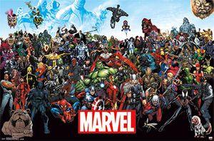 Marvel Poster Line Up 15  + Ü-Poster