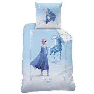 Disney Frozen 2 Elsa Mädchen Bettwäsche Mythical Water 80x80 cm 135x200 cm