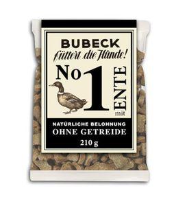 Bubeck - No. 1 mit Ente - Hundekuchen - getreidefrei - 210g
