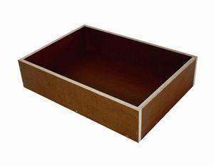 Elmato 12832 Buddelkiste Buddelbox Badehaus für Sandbad, wasserbeständig, 35x25x8cm