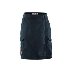 FjällRäven Övik Travel Skirt W, Size:36, Color:Dark Navy (555)