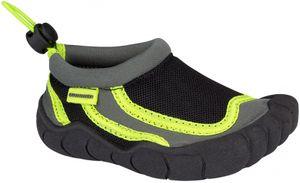 Waimea Aquaschuhe Wasserschuhe Badeschuhe Anthrazit/Schwarz/Fluorgrün Schuhe, Größe:26