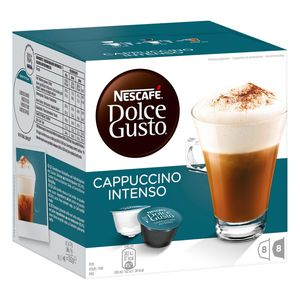 Nescafé Dolce Gusto Cappuccino Intenso | 16 Kaffeekapseln