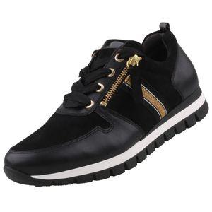 GABOR Comfort  Damen Sneaker Schwarz, Schuhgröße:EUR 38.5