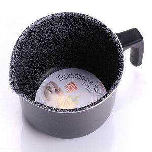 Alluflon Tradizione Italia Milchtopf, mit Ausgießer, Milch Topf, Milchkochtopf, Kochtopf, Aluminium, Ø 10 cm, 0008028510