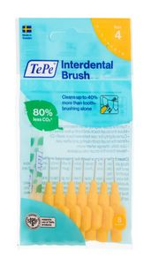 TePe 0,7 mm Größe 4 Original Interdental Brush - 8er Pack