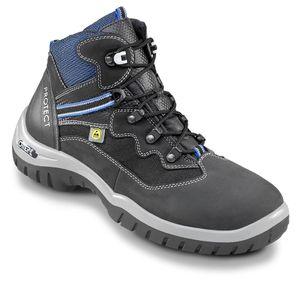 OTTER 71062 Sicherheitsschuh ESD S2 Sicherheitsschuhe Arbeitsschuhe Hoch Stiefel, Größe:38