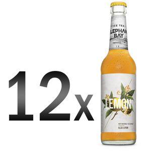 Elephant Bay ICE TEA Eistee Lemon Set - 12x Elephant Bay Lemon je 330ml inkl. Pfand - MEHRWEG
