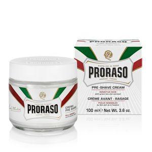 Proraso Crema Pre Barba Anti-Reizungsrasiercreme & After Shave Creme 100ml Tiegel
