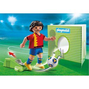 PLAYMOBIL fußballspieler Spanien Junior 8-teilig