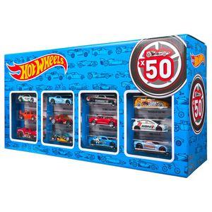 Hot Wheels Mattel V6697 - Customized Car Pack, 50er Pack