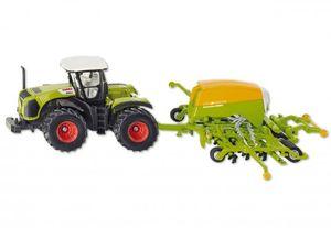 Siku Traktor mit Sämaschine Landwirtschaft grün; 1826