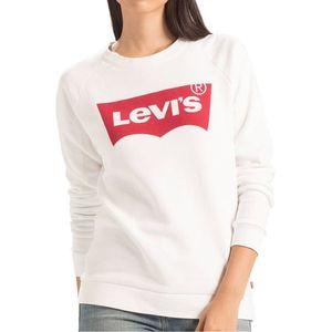 Levi´s Sweatshirt Women RELAXED GRAPHIC CREW 29717-0014 Weiß, Größe:S