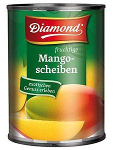 Diamond fruchtige Mango Früchte in Scheiben leicht gezuckert 425g