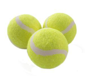Magic-Sports Tennisball 3er Pack, drucklos, im Polybag, unbedruckt