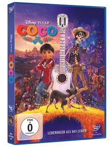 Disney Coco - Lebendiger als das Leben [DVD]
