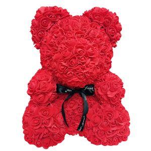 Der Rosenbär für Geburtstags Abschluss Hochzeit Valentinstag Geschenk Blumen Bär