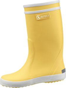 Aigle Lolly-Pop Stiefel gelb/weiß Gr. 38
