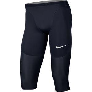 Nike M Np Aeroadpt Short Long Npc - obsidian/obsidian/white, Größe:XL
