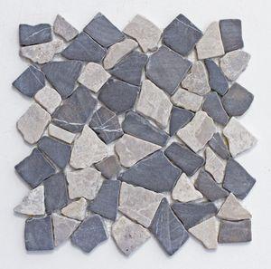 Mosaikfliesen - M-1-014 - 1 m² = 11 Fliesen - Marmor Bruchsteinmosaik Wandfliesen Bodenfliesen - Naturstein Fliesen Lager Verkauf Stein-Mosaik Herne NRW